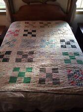 Antique Nine Patch Quilt Cutter Quilt