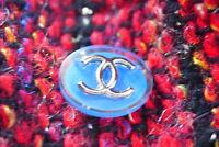 100% Authentic Chanel Button 1 pieces blue 💋💋💋💋💋💋💋💋