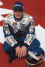 Jacques Villeneuve SIGNED 12x8 F1 Williams World Champion Portrait 1997