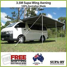 3.5m SUPA-PEG SUPA WING 4X4 RV BAT WING AWNING