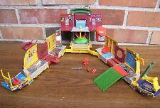 1995 TMNT Mini Mutants Party Wagon Playset Stock No. 3351