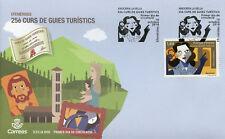 Spanish Andorra 2018 FDC Cultural Guides Curs de Guies Culturals 1v Cover Stamps
