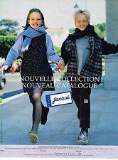 PUBLICITE ADVERTISING 035  1998  JACADI   vetements enfants nouvelle collection