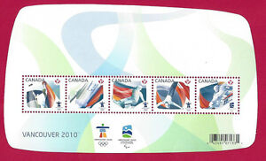 Canada  # 2299  Olympic Sporting Events  Brand New 2009 Original Pristine Issue