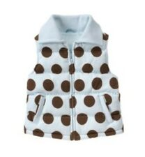 NWT Gymboree Girls Best Friend Vest Polka Dot Size Large 10-12