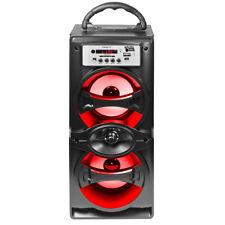Fully Powered 500 Watts Portable Multimedia Speaker - EDGE10 Black