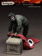 Stalingrad miniatures, 1:35, ARMÉE ROUGE-Citerne et drapeau nazi, 1945, S-3571