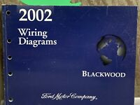 2002 OEM Ford Lincoln Blackwood Wiring Diagrams Electrical Service Manual