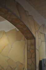 25m² Mediterrane Natursteinwand Wandverblender Verblendsteine Polygonalplatten