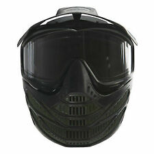 JT Flex 8 Thermal Full Coverage Paintball Goggle Mask - Olive Camo 2634