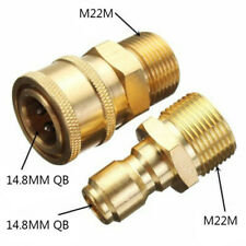TUBO Connettori rapido 3//4 Pollice BSP 2 VIE Y Donna connettore maschio tipo Hoselock