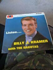New listing RARE BILLY J KRAMER & THE DAKOTAS LP LISTEN PARLOPHONE PMC 1209 MONO FLIPBACK