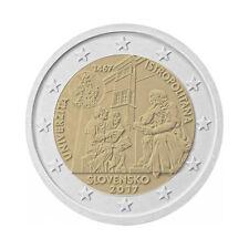 "Slovakia 2 Euro commemorative coin 2017 ""Universitas Istropolitana"" UNC"