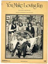 New listing Fleetwood Mac Sheet Music You Make Loving Fun Christine McVie
