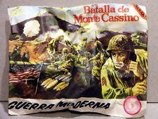 MONTAPLEX Sobre Guerra Moderna BATALLA de MONTE CASSINO soldados 2ª GM airfix