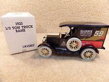 1992 ERTL 1:25 Diecast Robert Pressley Alliance 1923 1/2 Ton Truck Bank b