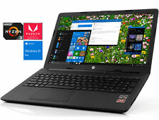 """HP 15.6"""" HD, Ryzen 3 2200U, 16GB RAM, 256GB SSD + 1TB HDD, DVDRW, Windows 10 Pro"""