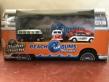 !!!! DIE CAST COLLECTIBLE BEACH BUMS HAWAII COLLECTION 1:64 !!!