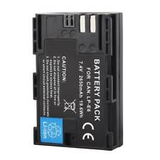 2650mAh LP-E6 Replacement Battery For Canon EOS 5D Mark II III 6D 7D 60D 70D 80D