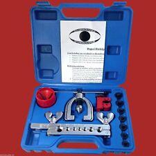 Bremsleitung Bördelgerät für STAHL mit Rohrschneider+Entgrater bördeln Werkzeug