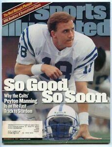 SI: Sports Illustrated November 22, 1999 So Good So Soon: Peyton Manning, Colts
