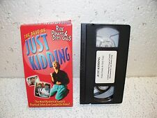 The Best of Just Kidding : Rude Pranks & Dirty Gags VHS Video   Practical Jokes