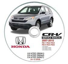 Honda CR-V (MY 2007-->) manuale officina workshop manual