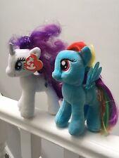 My Little pony Plush TY Soft Toy bundle Rainbow Dash & twilight sparkle