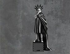 "Mighty Jaxx Banksy Liberty Girl 10"" Art Statue Brandalised Banksy"