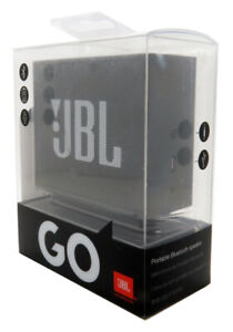 JBL Go Portable Bluetooth Wireless Speaker Black In Retail Authentic New