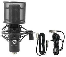 Rockville RCM PRO Studio/Grabación Micrófono Condensador W condensadores de Samsung