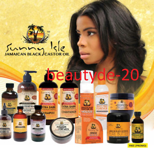Sunny Isle Jamaican Black Castor Oil-Hair Care Products-Original Free UK Post!!!