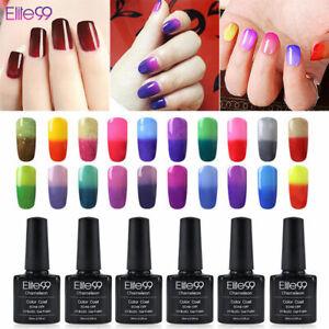 Elite99 UV LED Colour Thermal Change Gel Polish Chameleon Manicure 10ML Nail Art