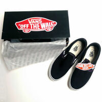 VANS Classic Slip-On Kids Skate Sneaker Shoes Black VN-0EXSBLK Size 4.0 NEW