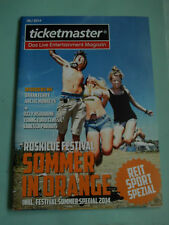 Ticketmaster 06 / 2014  Cover&Story Roskilde Keith Richards Richie Sambora u.a.