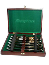 Snap-On Box Wrench 6 Piece Steak Knife Set in Collectors Box Gold-Color #SSX2815