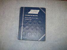 Starter set 35 different Jefferson Nickels housed in 1938-1961 Littleton Folder