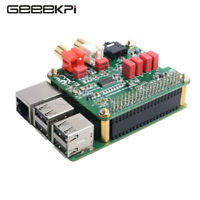 GeeekPi PCM5122 HIFI Audio DAC Expansion Board For Raspberry Pi 4B/3B+/3B/2B
