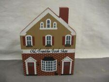 Old Franklin Book Shop Shelf Sitter Series Vii c 1989 Cat's Meow Vgc