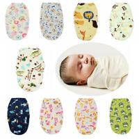 Newborn Baby Towel Anti-Jump Wrap Warm Sleeping Bag Infant Swaddle Plus