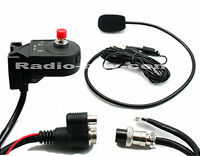 MIC-100 D, Handfree for Mobile Radio - Alinco DR-635T/E, compact free speaker