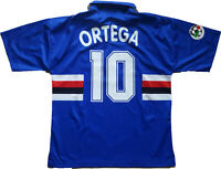 maglia Sampdoria Ortega 1998 1999 match jersey football SERIE A vintage shirt