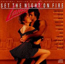 LAMBADA - SET THE NIGHT ON FIRE ORIGINAL SOUNDTRACK CD! OOP [1990 EPIC] NR-MINT