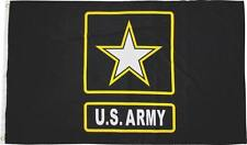 3X5 Us Army Gold Star Flag 3'x5' United States Army Banner Usa Seller