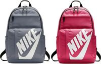 Nike Elemental Rucksack Backpack Unisex Sportswear Sport School Bag Grey Pink