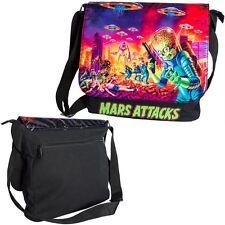 Kreepsville 666 Men Boy Mars Attacks Mini Messenger Bag