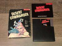 Desert Commander Nintendo Nes Complete CIB Authentic