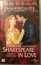 SHAKESPEARE IN LOVE - WINNAAR VAN 7 OSCARS - VHS