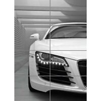 Audi R8 Car Super Car Giant Wall Mural Art Poster Picture Print 33x47 Inches