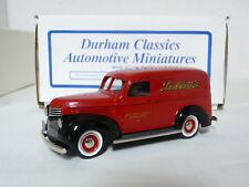 Durham DC-12B 1/43 Chevrolet Panel Delivery Labatt's White Metal Handmade Model